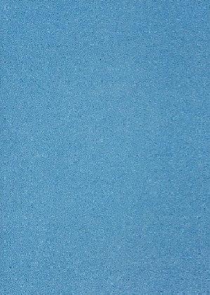 Sea Blue Glitter Card
