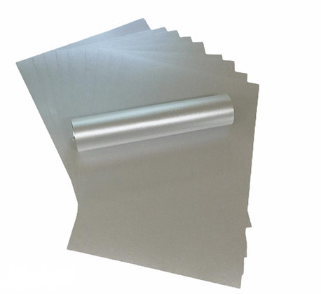 Pearlescent Paper - Silver