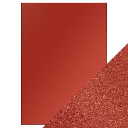 Pearl Card 5 Sheets - Red Velvet