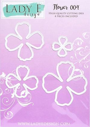 Lady E Design - Flower 004 Die Set