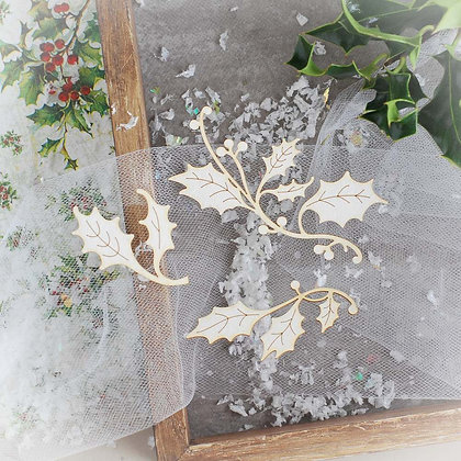 Christmas Collection - Holly Leaves