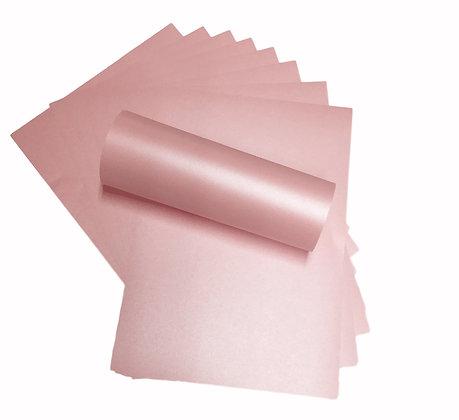 Pearlescent Paper - Pink Petal