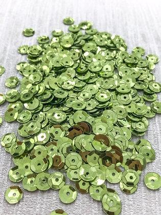 Apple Green Sequins