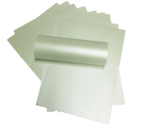 Pearlescent Paper - Fresh Mint