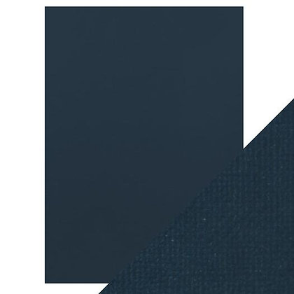 Weave Textured Card - Navy Blue