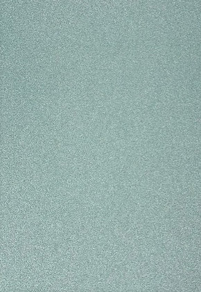 Glitter Card 5 Sheets - Aqua