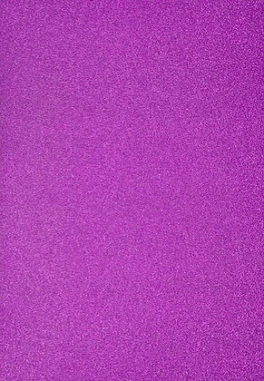 Glitter Card  5 Sheets - Purple