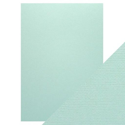 Weave Textured Card - Arctic Blue