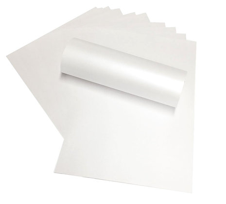 Pearlescent Paper - Snow White