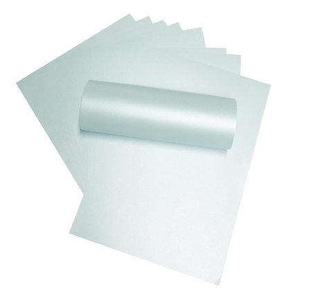 Pearlescent Paper - Pale Aqua