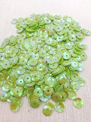 Iridescent Green Sequins