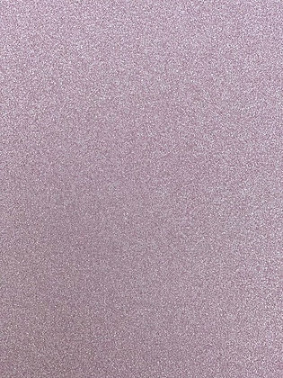 Pale Pink Glitter Card