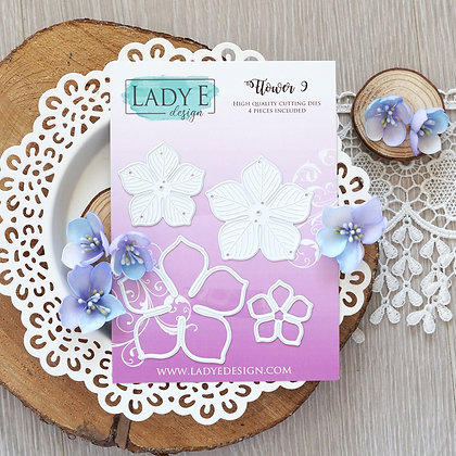 Lady E Design - Flower 009 Die Set