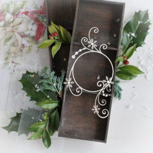 Christmas Collection - Wreath Swirl & Snowflake