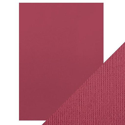 Weave Textured Card 10 Sheets - Raspberry Pink