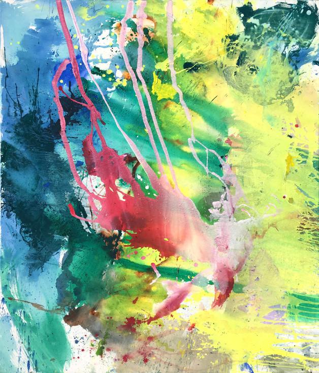 Seefeuer, 2017, 180 x 160 cm