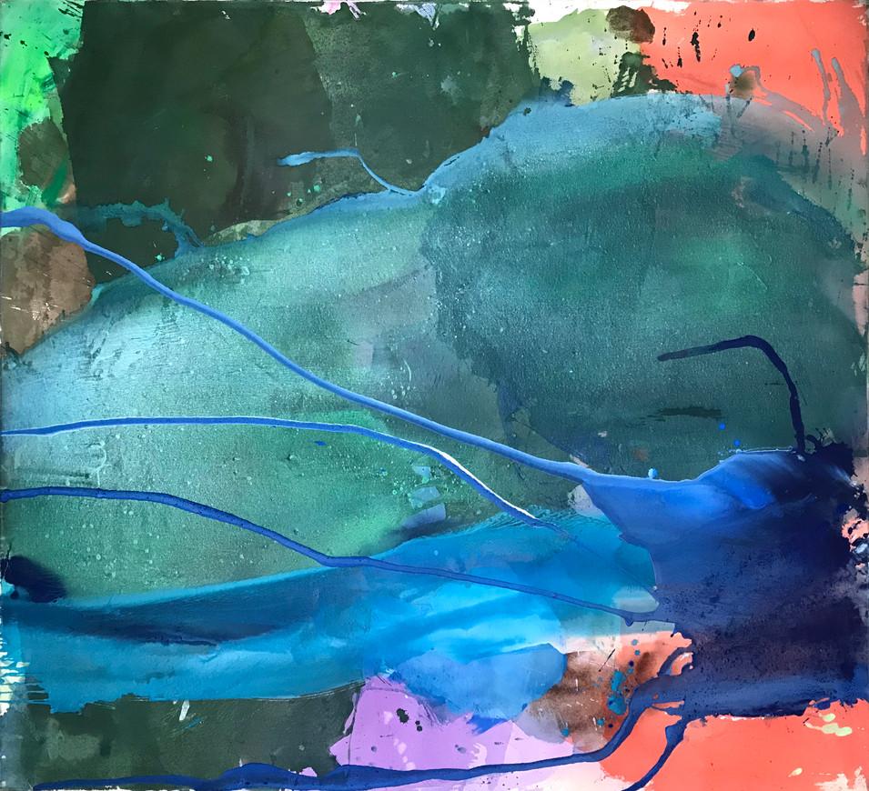 Ribojade, 2018, 140 x 150 cm
