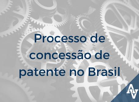 Processo de concessão de patente no Brasil