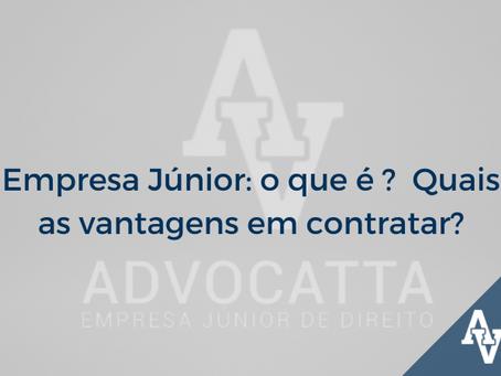 Empresa Júnior: o que é ?  Quais as vantagens em contratar?