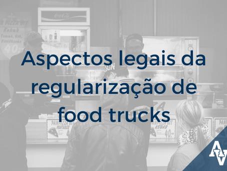 Aspectos legais da regularização de food trucks