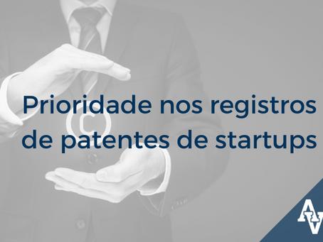 Prioridade nos registros de patentes de startups