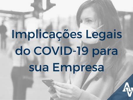 As Implicações Legais do COVID-19 para Micro, Pequenas e Médias Empresas