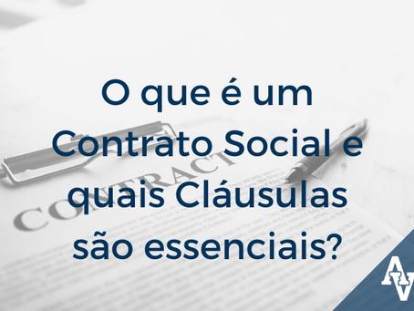 O que é um Contrato Social e quais cláusulas são essenciais?