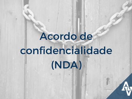 Acordo de Confidencialidade (NDA)
