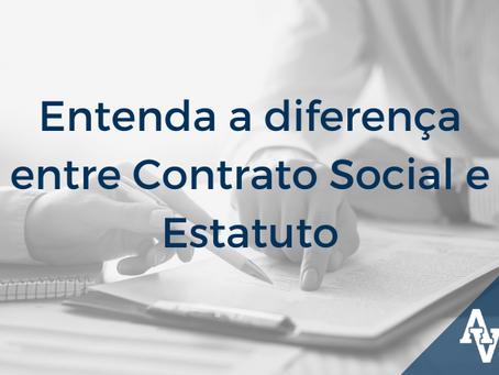Entenda a diferença entre Contrato Social e Estatuto