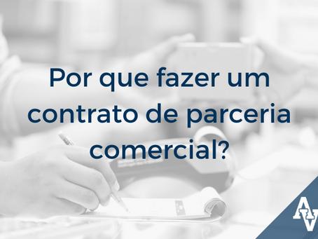 Por que fazer um contrato de parceria comercial?