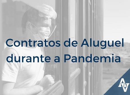 Contratos de Aluguel durante a Pandemia