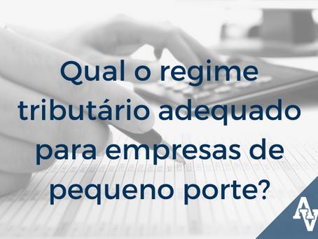 Qual o regime tributário adequado para empresas de pequeno porte?