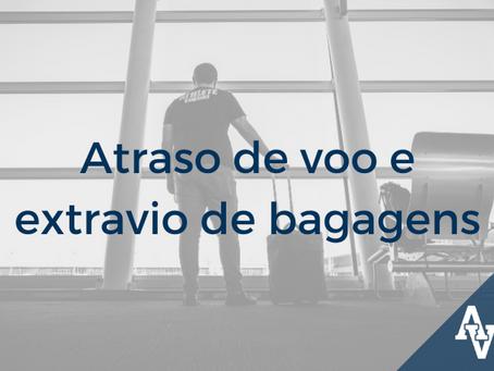 Atraso de voo e extravio de bagagens