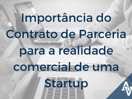 Importância do Contrato de Parceria para a realidade comercial de uma Startup