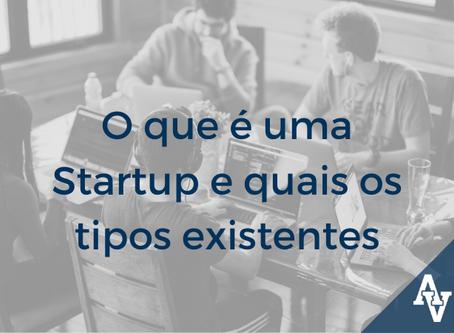 O que é uma Startup e quais os tipos existentes