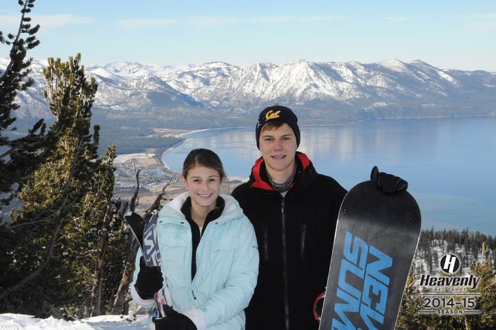 Lake Tahoe with my host-sister