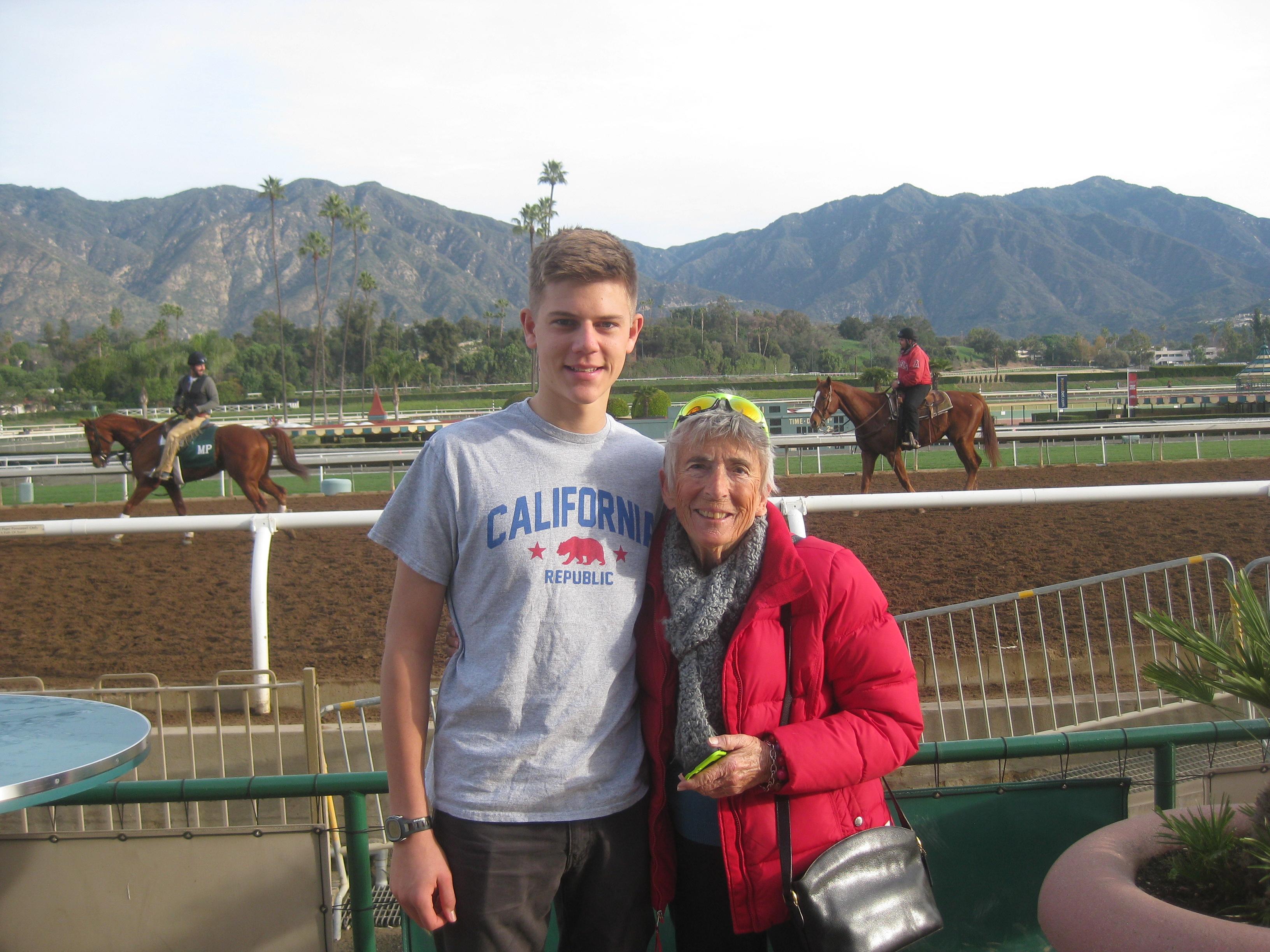 Me with Bobbie Landers