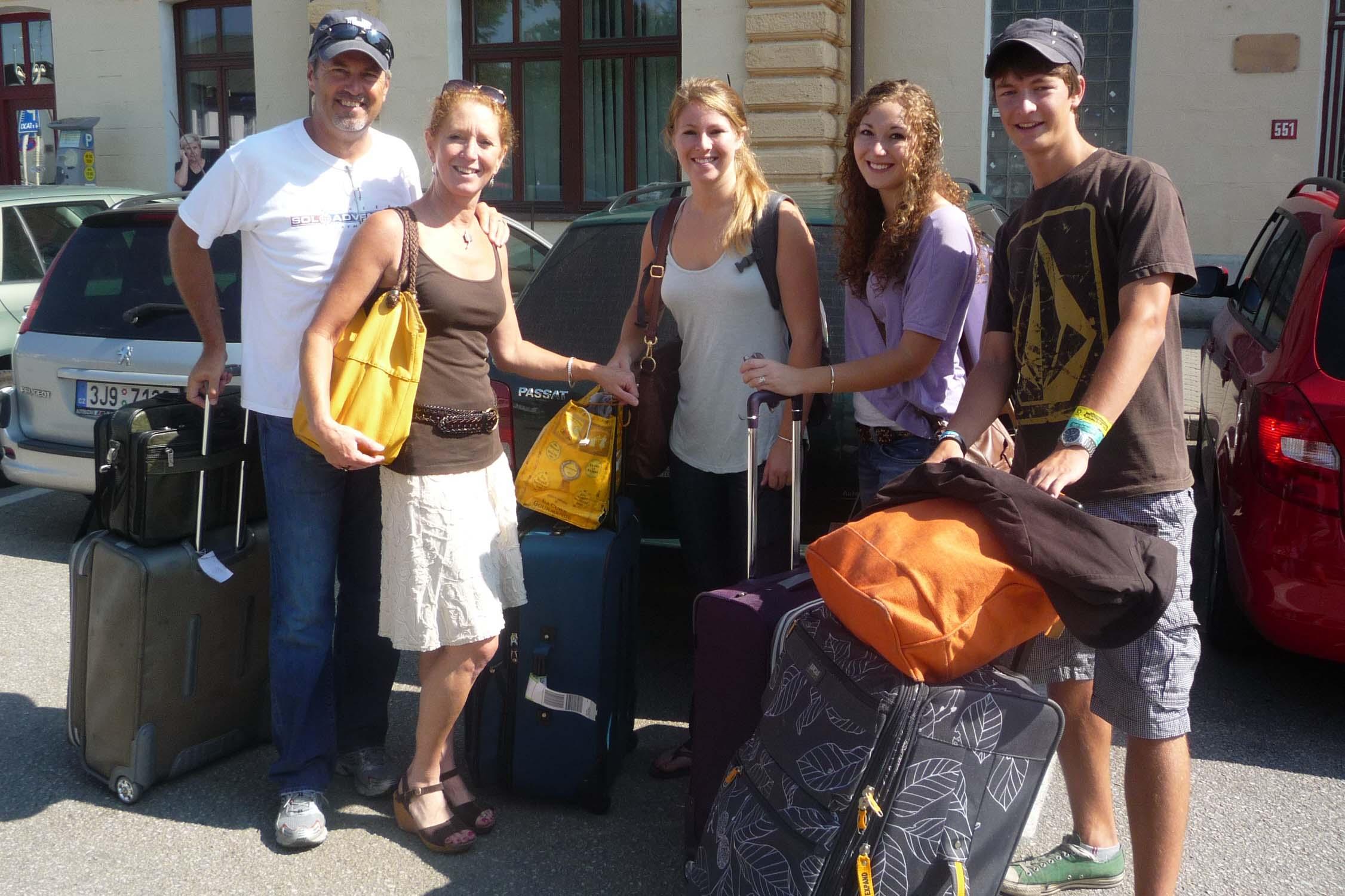 Návštěva Pinkerds v Čechách