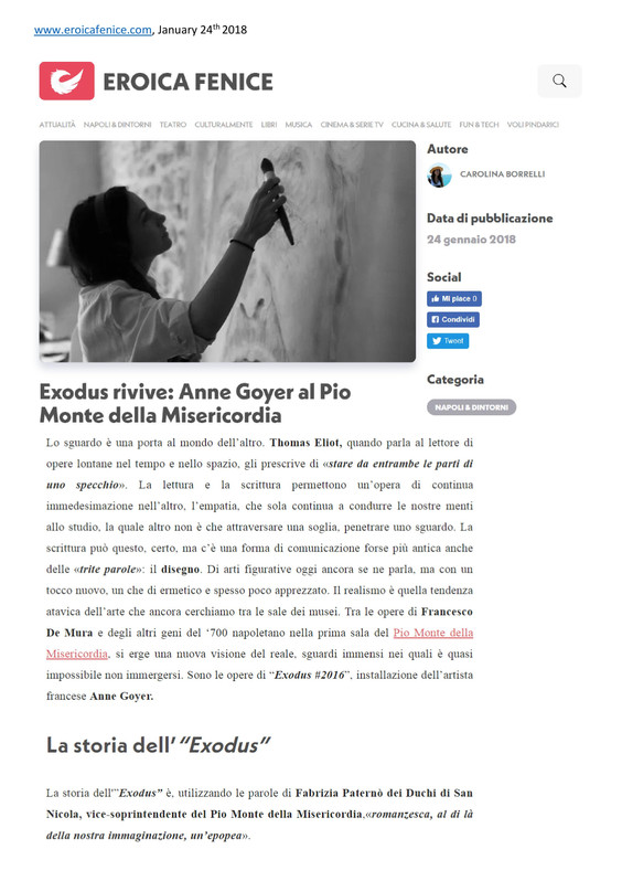 Eroica Fenice EXODUS#2016 Pio Monte-page