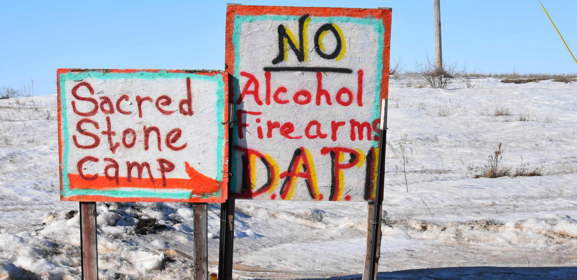 Water Protectors project