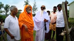 Swami in village