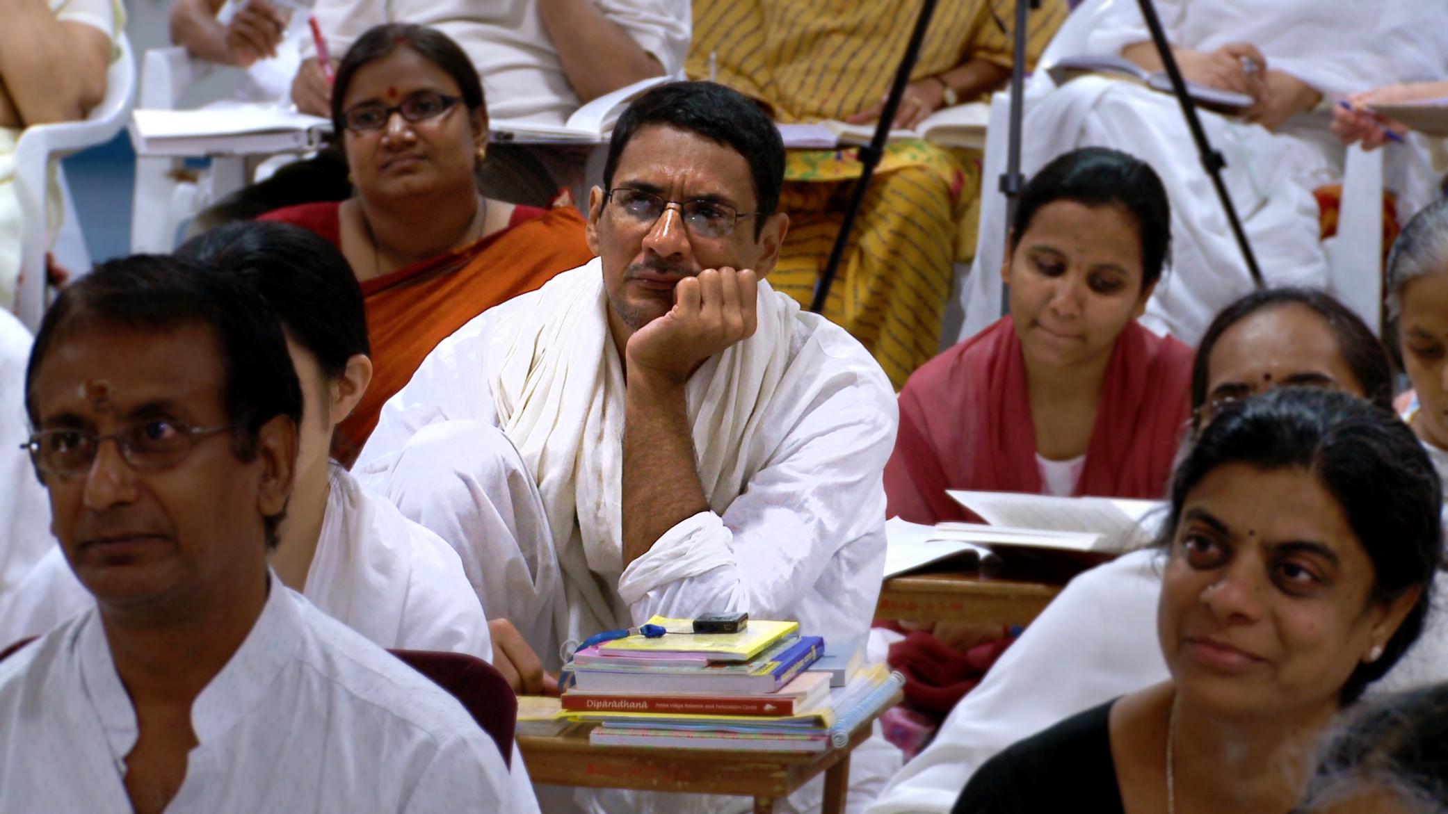 Ashram Students