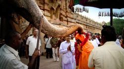 Swami blessing