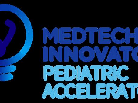 AlgometRx selected to participate in MedTech Innovator Pediatric Accelerator!