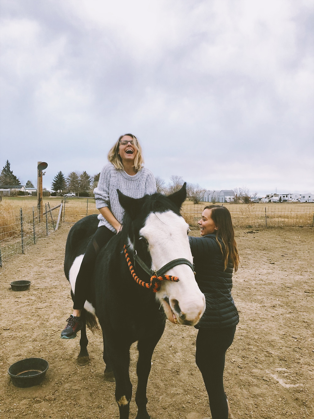 Got on a horse again, first time since I sold my Sadie a year ago.