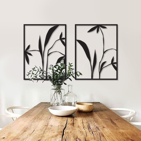 Abstract lilies