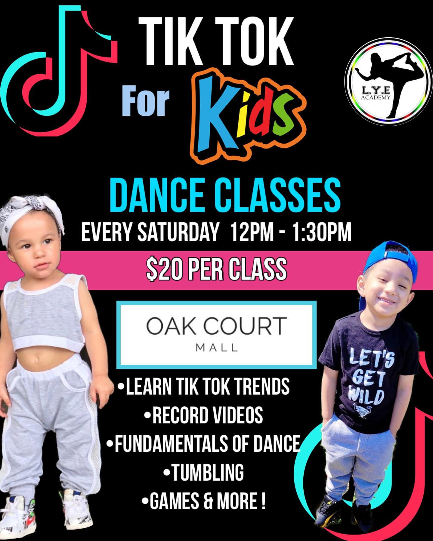 TIKTOK for Kids OAK COURT MALL