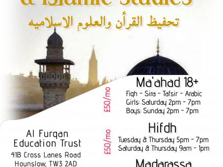 Memorizing Quran & Islamic Studies