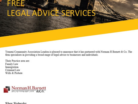 FREE Legal Advice Services