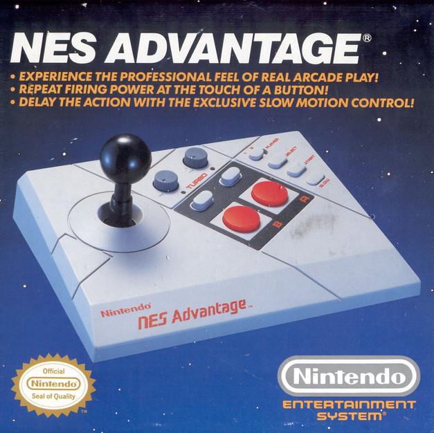 The NES Advantage Control Panel